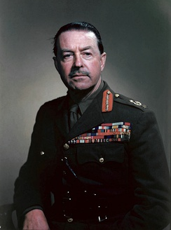 Photo of Harold Alexander, 1st Earl Alexander of Tunis in military uniform
