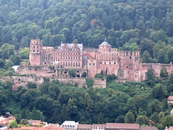Heidelberg Castle of the Electors of Palatinate