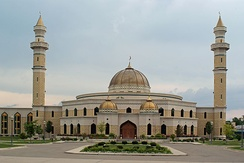 The Islamic Center of America in Dearborn, Michigan, is the largest mosque in the United States.