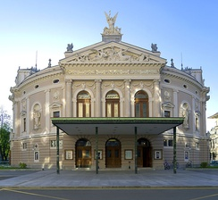 The front of the Opera and Ballet Theatre