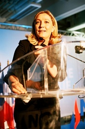 Marine Le Pen, leader of the National Front and 2017 presidential candidate