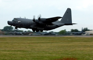 MC-130H Combat Talon II infiltration/exfiltration and aerial refueling aircraft