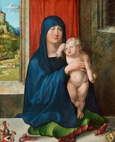 Detail, Haller Madonna, 1505, National Gallery