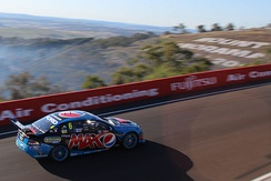 The Ford FG Falcon in which Mostert and Paul Morris won the 2014 Supercheap Auto Bathurst 1000