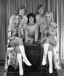 Lythgoe in 1976, with dance group