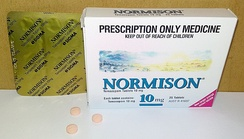 Temazepam (Normison) 10 mg tablets