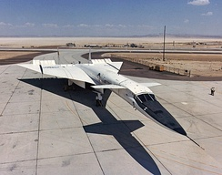 XB-70A parked at Edwards Air Force Base in 1967