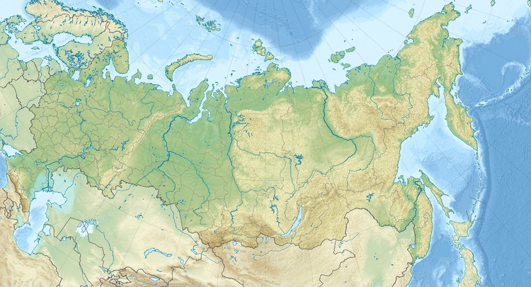 Russia is located in Russia