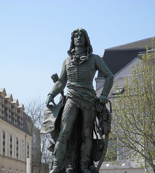 Marceau statue in Chartres, 1845.