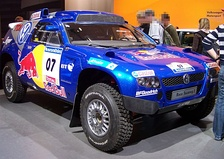 2007 Edition Race Touareg 2 at Essen Motor Show 2006