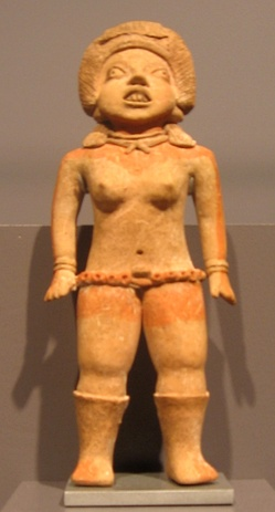 A female, often identified as a ballplayer 10th - 9th century BCE[21] or 15th - 10th century.[22]