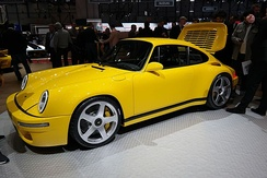 2017 Ruf CTR on display at the Geneva Motor Show