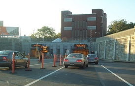 The Red Hook portal of the Brooklyn–Battery Tunnel