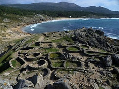 Castro de Baroña, an Iron Age fortified settlement