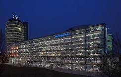 Mercedes-Benz dealer in Munich, Germany.