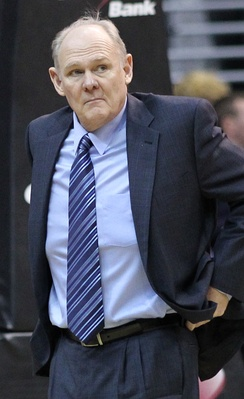 George Karl was named NBA Coach of the Year in 2013, his final season in Denver