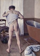 Gustave Caillebotte, Man at His Bath, 1884