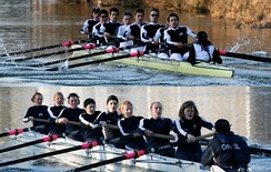 During the 2006 Torpids, the double headship winning Oriel Men's and Women's Eights maintained the college's reputation for success in rowing.