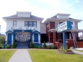 The Hitsville U.S.A. Motown building, at 2648 West Grand Boulevard in Detroit, Motown's headquarters from 1959 to 1968, which became the Motown Historical Museum in 1985[11]