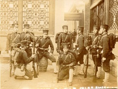 Japanese troops during the Boxer Rebellion