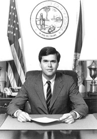 Bush as Florida Secretary of Commerce