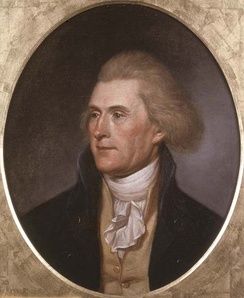"Thomas Jefferson: The Missouri crisis roused Thomas Jefferson ""like a fire bell in the night.""[36]"