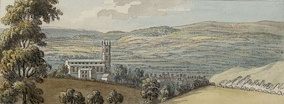 A view of Mold c.1778