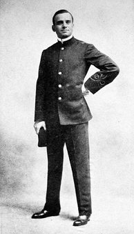 Fairbanks in the Broadway production A Case of Frenzied Finance, 1905