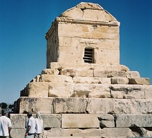 Cyrus' tomb lies in Pasargadae. Iran is home to 19 historic sites which have been inscribed on UNESCO World Heritage List.