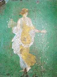 The so-called Primavera of Stabiae, perhaps the goddess Flora