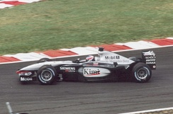 Kimi Räikkönen took 4th in his McLaren MP4-17.