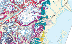 Redoubt Volcano geologic map