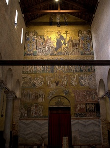 Last Judgment: 12th-century Byzantine mosaic from Torcello Cathedral