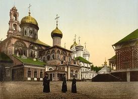 Троицкий собор Троице-Сергиевой Лавры. 1890-е гг. Фотография