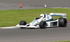 The 1978 Williams FW06 at Silverstone in 2007