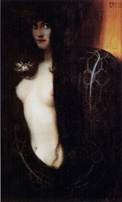 The Sin, by Franz Stuck, 1893.