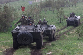 Portuguese National Deployed Force in Bosnia in 2002.