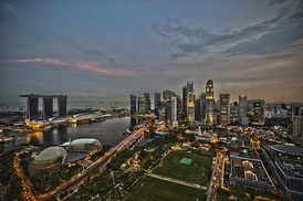 Singapore is the top country in the Enabling Trade Index.