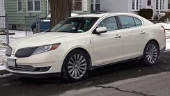 The 2013 model year Lincoln MKS