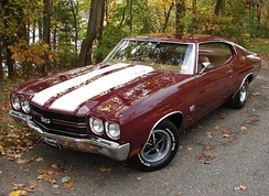 1970 Chevelle SS396 Hardtop Coupe