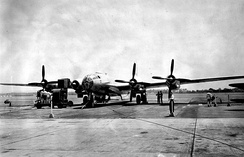 The sole XB-44 Superfortress was a converted B-29 Superfortress used to test the possibility of using the R-4360 radial engine on the latter.