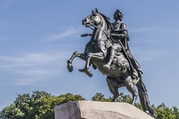 The Bronze Horseman, monument to Peter the Great