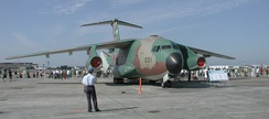 The Kawasaki C-1 is a tactical military transport of the Japan Air Self-Defence Force