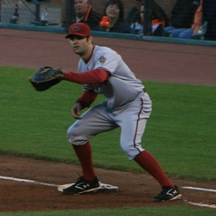 Conor Jackson (2003) is one of three first baseman selected by the Diamondbacks.
