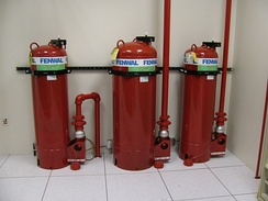 FM200 Fire Suppression Tanks