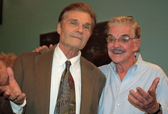 Willard and Jack Betts in November 2010