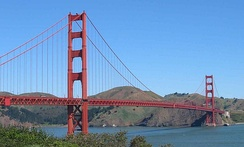 The Golden Gate Bridge is one of northern California's most well known landmarks and one of the most famous bridges in the world.