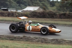 1968 USGP at Watkins Glen.Photo by Bob Sanderson
