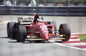 Jean Alesi scored the only win of his Formula One career.
