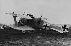 LFG Roland C.II with wooden Wickelrumpf monocoque fuselage